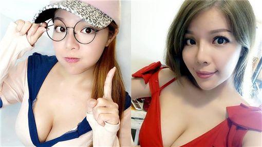 以韓團「少女時代」為模板的E奶女子團體「Super 7」第二代成員蘇怡君(蘇娃娃)。(翻攝臉書) ID-1648971