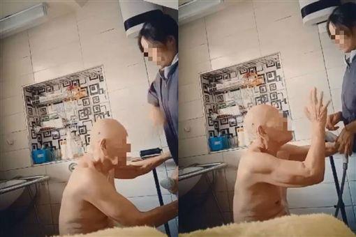 女外傭幫洗澡…遭阿公脫衣摳下體圖翻攝自靠北外勞與外勞仲介臉書