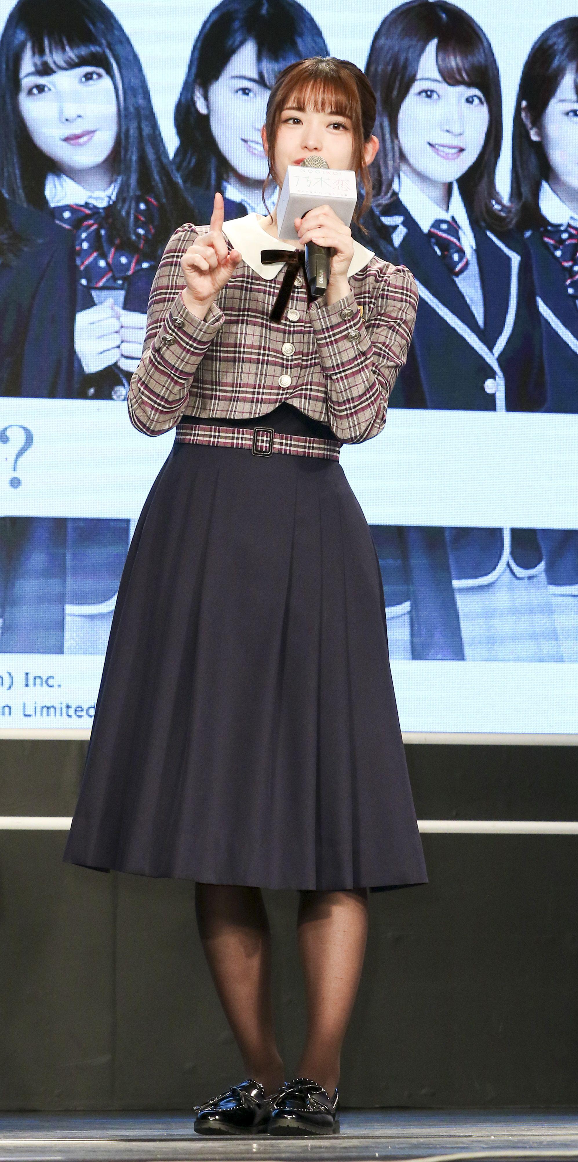 日本女團「乃木坂46」成員松村沙友理。(記者林士傑/攝影)