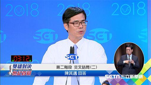 陳其邁、韓國瑜、辯論