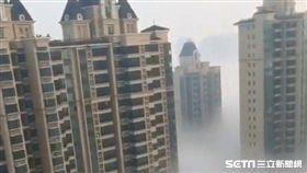 北京霧霾嚴重到慘變人間仙境