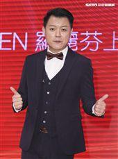 「羅麗芬控股」上市紀念慶典表演藝人張心傑。(記者林士傑/攝影)