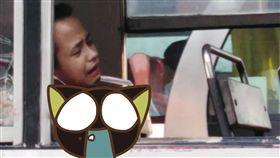 公車,窗戶,伸手,撞斷,意外,菲律賓,睡著,意外,交通 圖/翻攝自rmn