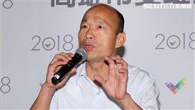 高雄市市長候選人韓國瑜辯論後記者會。(記者邱榮吉/攝影)
