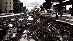 行政院長賴清德20日在臉書粉絲專頁分享高雄氣爆時,高雄市政府製作的歌曲《作陣,行咱的路》。(圖/翻攝賴清德臉書)