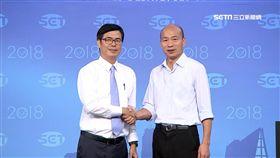 陳其邁,韓國瑜,高雄市,辯論,九合一選舉