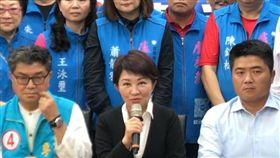 盧秀燕宣布請辭立委(圖/截取直播系統)