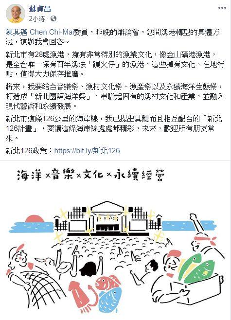 蘇貞昌,韓國瑜,辯論,漁港