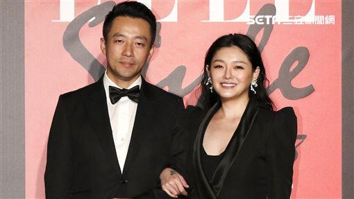 ELLE Style Awards風格人物大賞最具風格Couple大S與汪小菲。(記者林士傑/攝影)