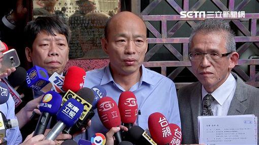 韓國瑜前往北檢原要控告鄭弘儀後來決定不告了,新聞台