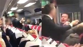 歧視,英國,倫敦,中國,大陸,蘇格蘭,火車,謾罵, 圖/翻攝自推特