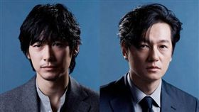 藤岡靛(左)再度挑大樑,挑戰演出世界名著《悲慘世界》。(圖/翻攝自富士電視台)