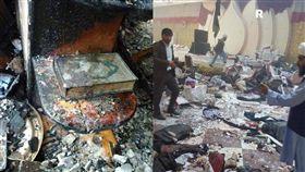 阿富汗宗教活動遭自殺攻擊 釀逾50死80傷 圖/翻攝自twitter