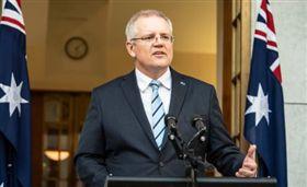 澳洲總理莫里森Scott Morrison。(圖/翻攝自Scott Morrison Twitter)