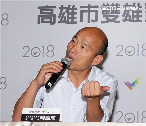 韓國瑜、林夕(記者邱榮吉攝影、翻攝臉書)