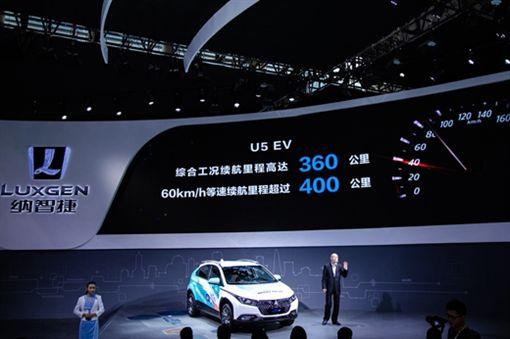 Luxgen U5 EV+(圖/翻設網路)