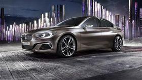 BMW 2 Series Gran Coupe。(圖/翻攝網站)