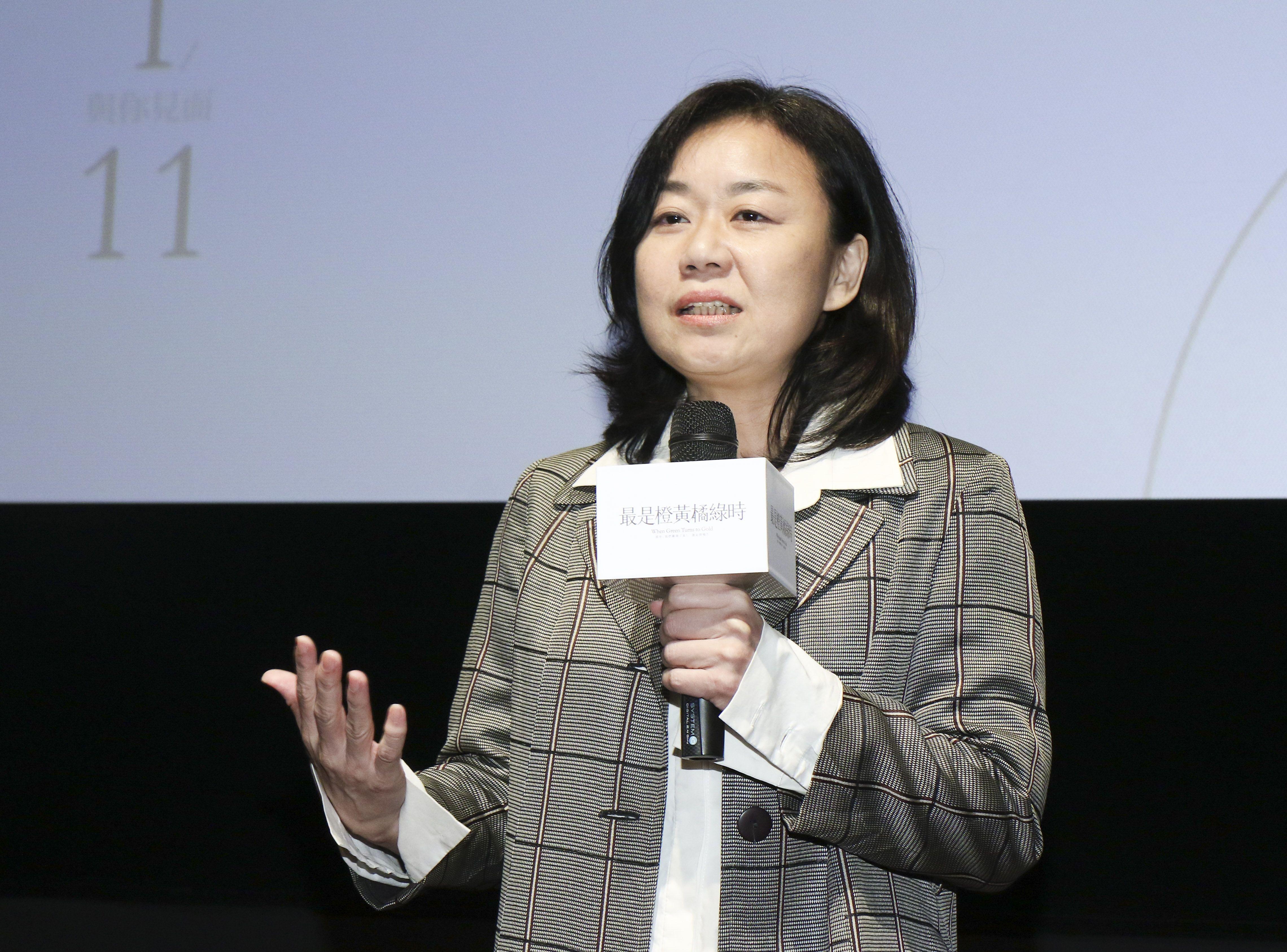 「最是橙黃橘綠時」電影發佈會導演徐慶珠。(記者林士傑/攝影)