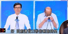 辯論會,韓國瑜喉嚨痛