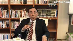 法務部長蔡清祥。潘千詩攝影