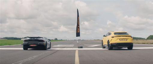Lamborghini Urus VS Huracan(圖/翻攝網路)