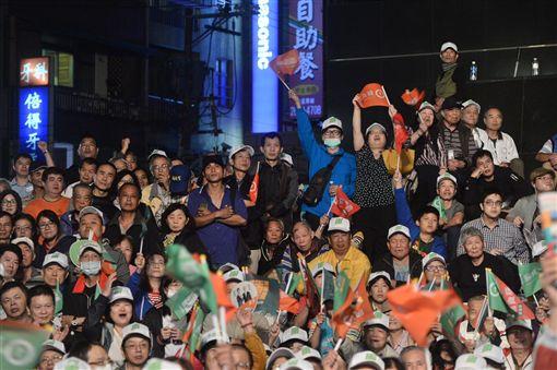 蘇貞昌的新店區造勢大會