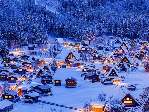 國際旅展優惠,日本,合掌村。(圖/易遊網提供)