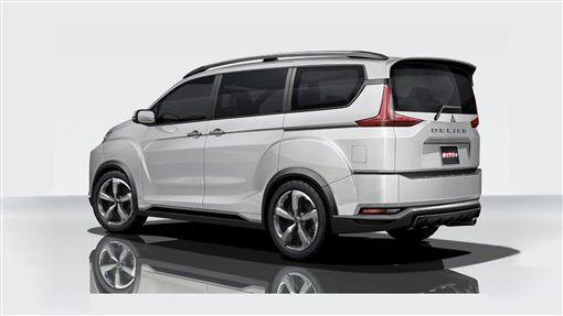 Mitsubishi Delica。(圖/翻攝網站)