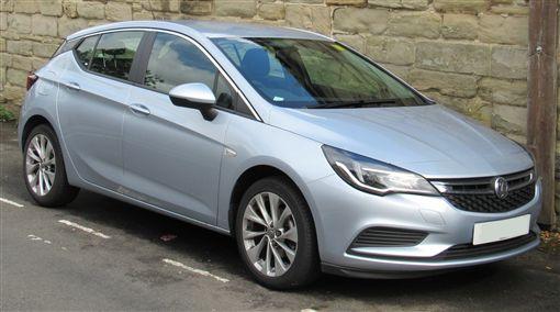 Vauxhall Astra(圖/翻攝網路)