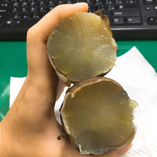雪蓮,地瓜,白蘿蔔,早餐(圖/翻攝自爆怨公社)
