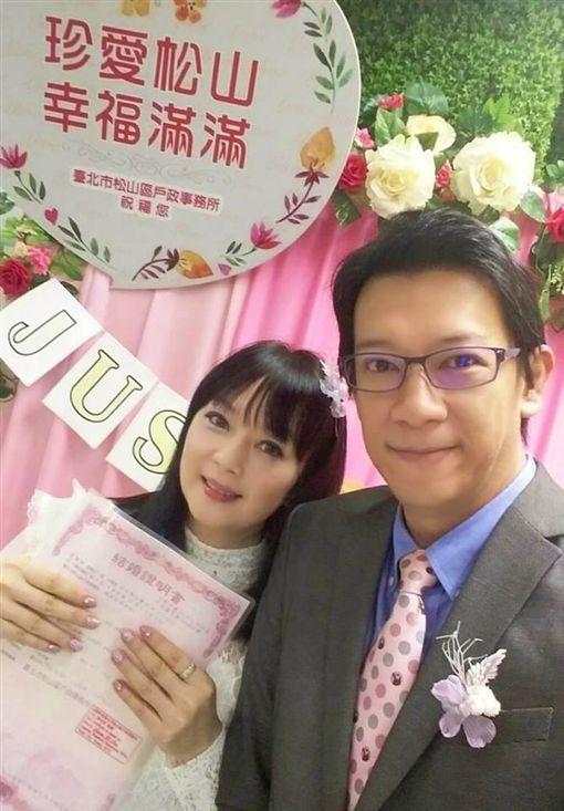 徐展元,谷懷萱,結婚,登記,戀愛,戶政事務所