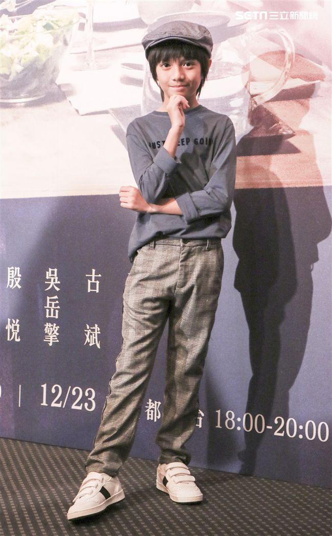 三立迷你劇「你好,幸福」首映會主演郭大睿。(記者林士傑/攝影)
