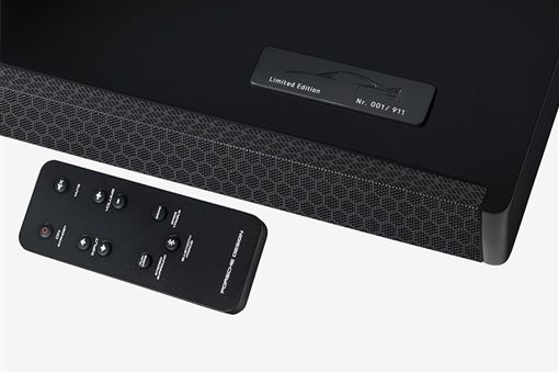 Porsche GT3排氣管造型音響。(圖/翻攝網站)