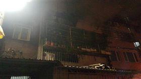 新北市蘆洲區光華路132巷大火(圖/翻攝畫面)