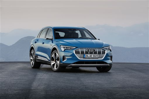 Audi e-tron。(圖/Audi提供)