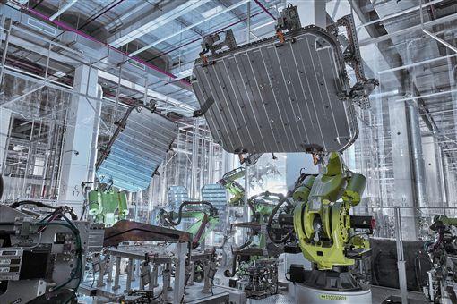 Audi研發電池循環利用技術。(圖/Audi提供)