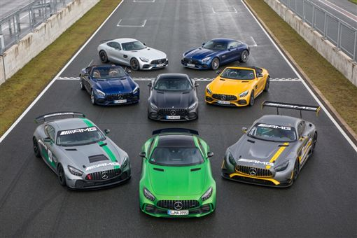 Mercedes-AMG GT家族(圖/翻攝網路)