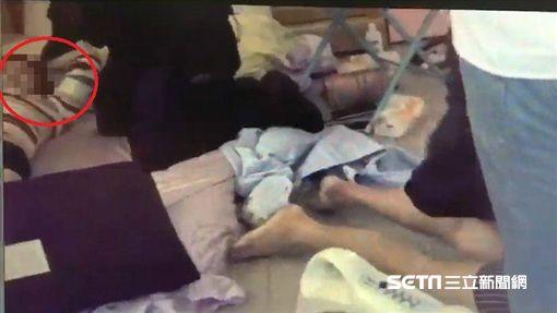 懷孕竟還狂吸毒 毒鴛鴦犯3起強盜案/翻攝畫面