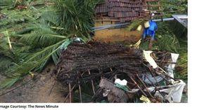 印度,月經,颱風,椰子樹,不祥(圖/翻攝自newsclick)