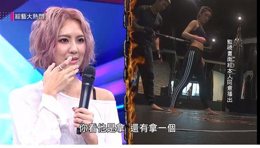 劉雨柔,黃育仁/翻攝自《我愛大熱門》Youtube