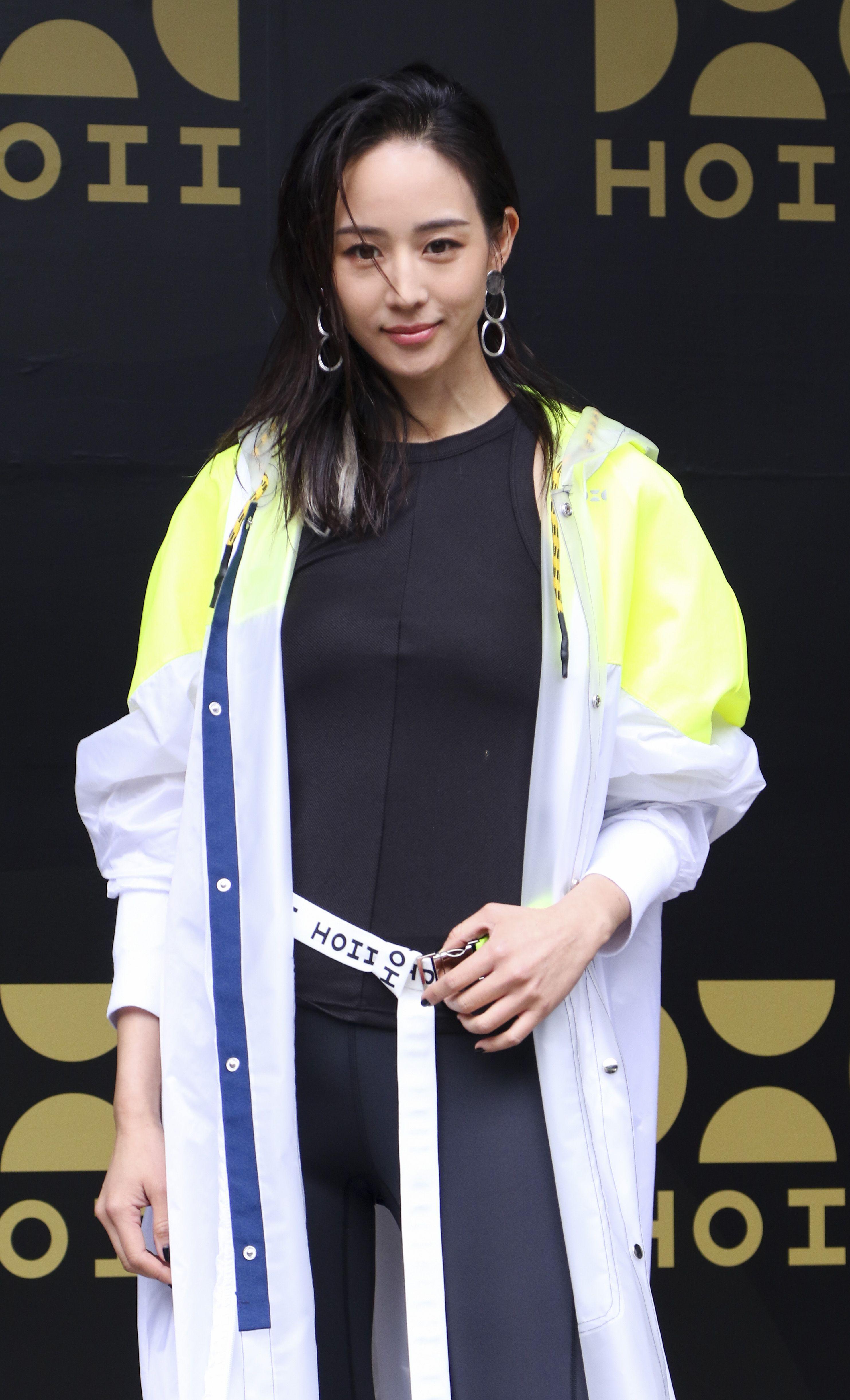 張鈞甯參加防曬品牌發表會。(記者林士傑/攝影)