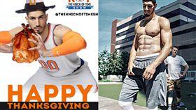 坎特感謝擁有腹肌 遭隊友一句話嗆爆  NBA,紐約尼克,Enes Kanter,感恩節,防守  翻攝自推特