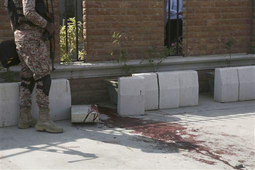 巴基斯坦自殺炸彈攻擊/達志影像/美聯社