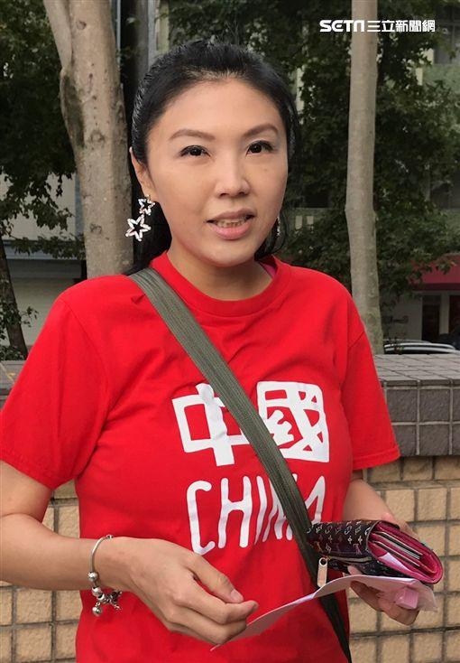 劉樂妍自豪自己被稱為「女黃安」。(圖/記者蔡世偉攝影)