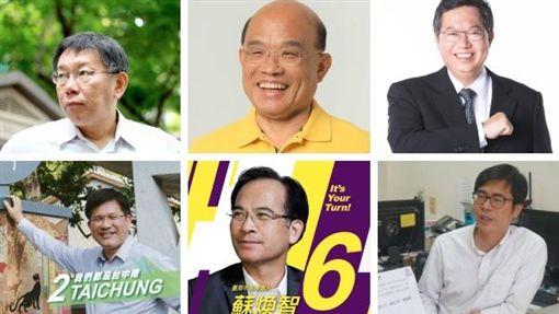 Master Wong六都預測 圖/翻攝自臉書
