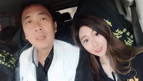 粉絲:恭喜岳父!馬尾妹「超仙甜笑」加持 幫父助選大成功(圖/攝自Melissa Yang臉書)