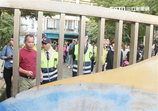 吳宗憲、潭美國小投票截止 圖/記者邱榮吉攝影