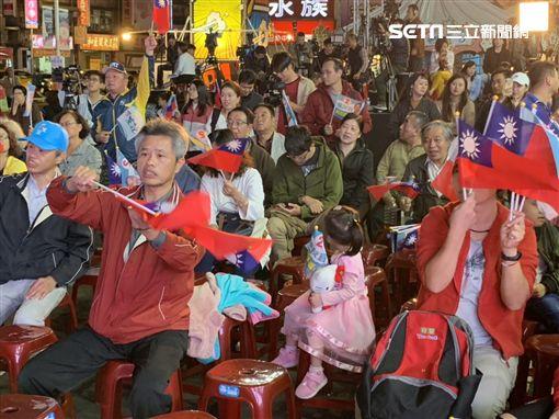 侯友宜,總部,支持者,新北,記者陳啓明攝
