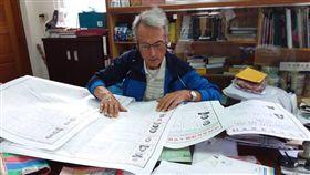 法國神父來台52年成「首投族」超感激:彷彿真正屬於台灣(圖/翻攝自玉里天主堂)