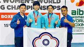 54公斤級選手林郁婷及69公斤級選手陳念琴奪得金牌。(圖/體育署提供)